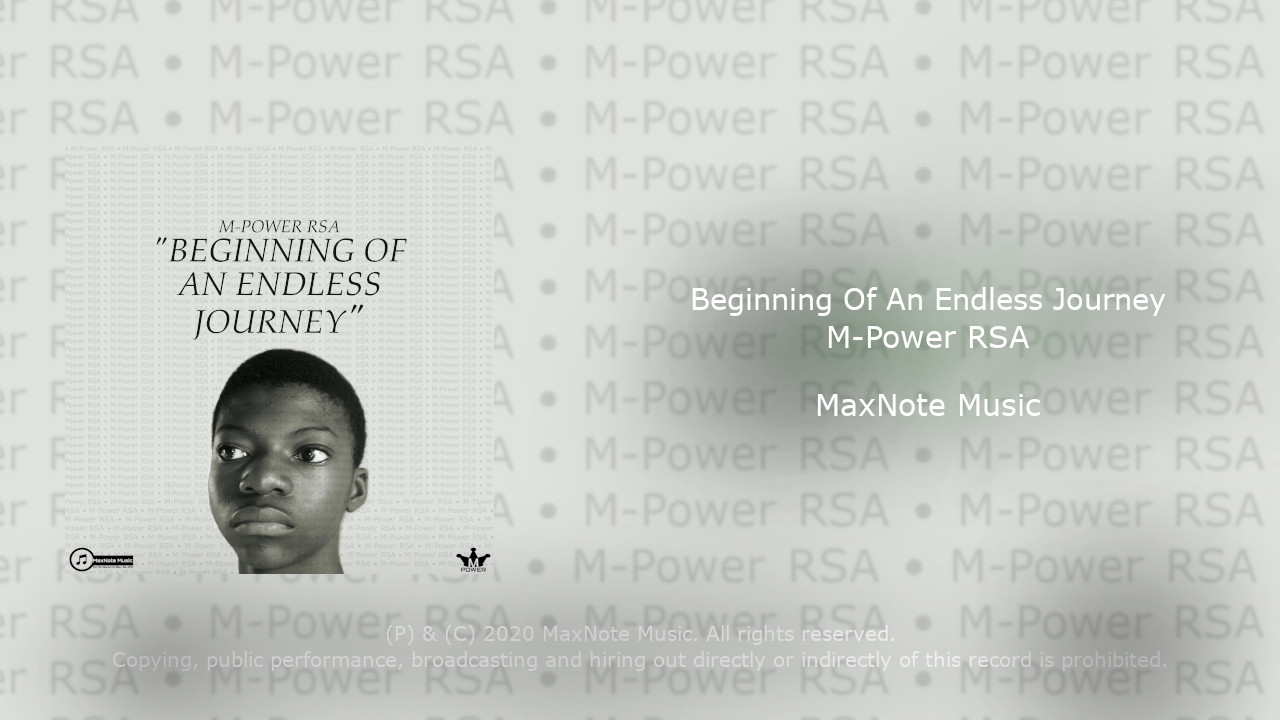 M-Power RSA – Beginning Of An Endless Journey – Album