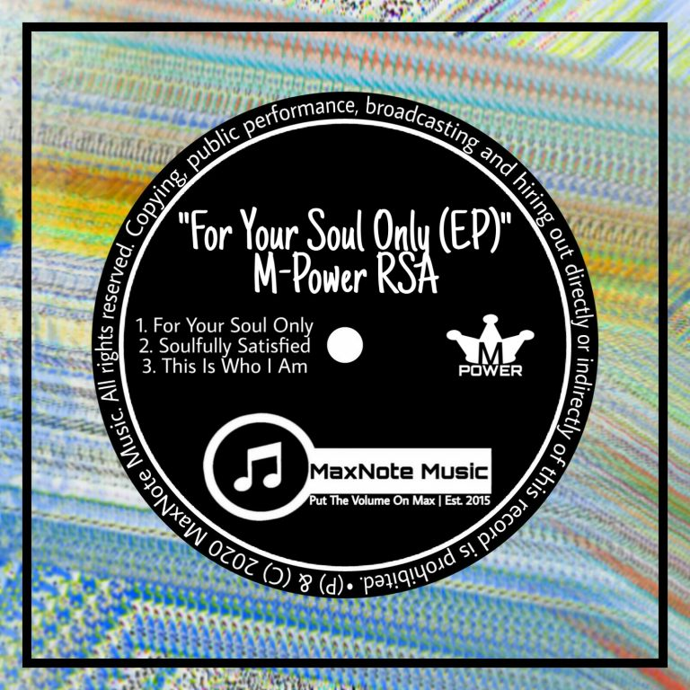 M-Power RSA – For Your Soul Only – EP