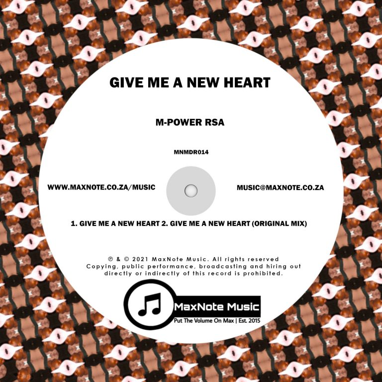 M-Power RSA – Give Me A New Heart – Single